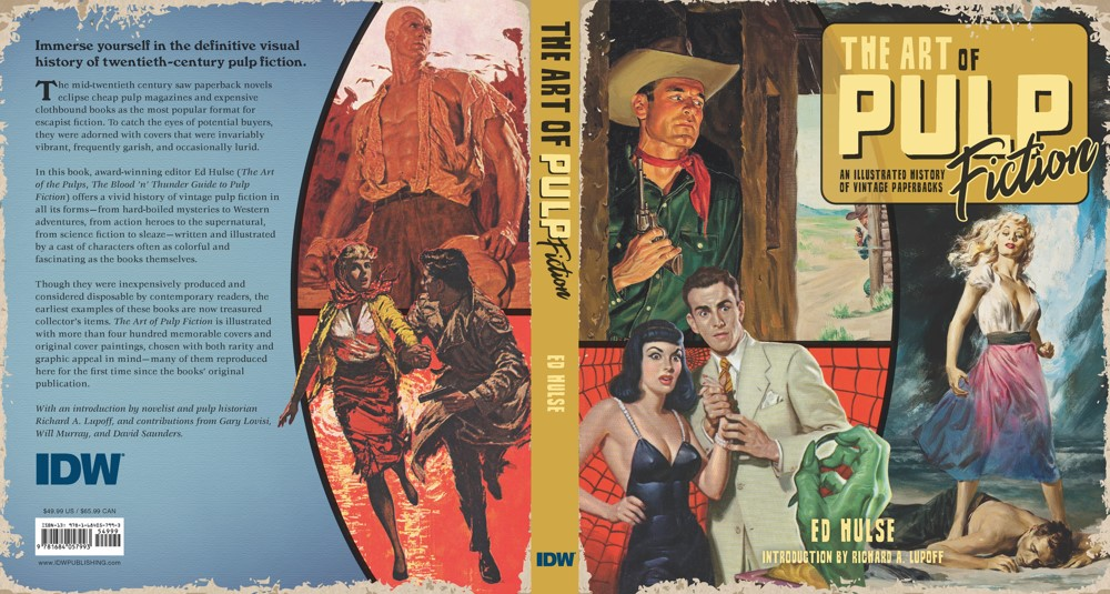 •AoPF_BOOK_Lo-002 ComicList Previews: THE ART OF PULP FICTION AN ILLUSTRATED HISTORY OF VINTAGE PAPERBACKS HC