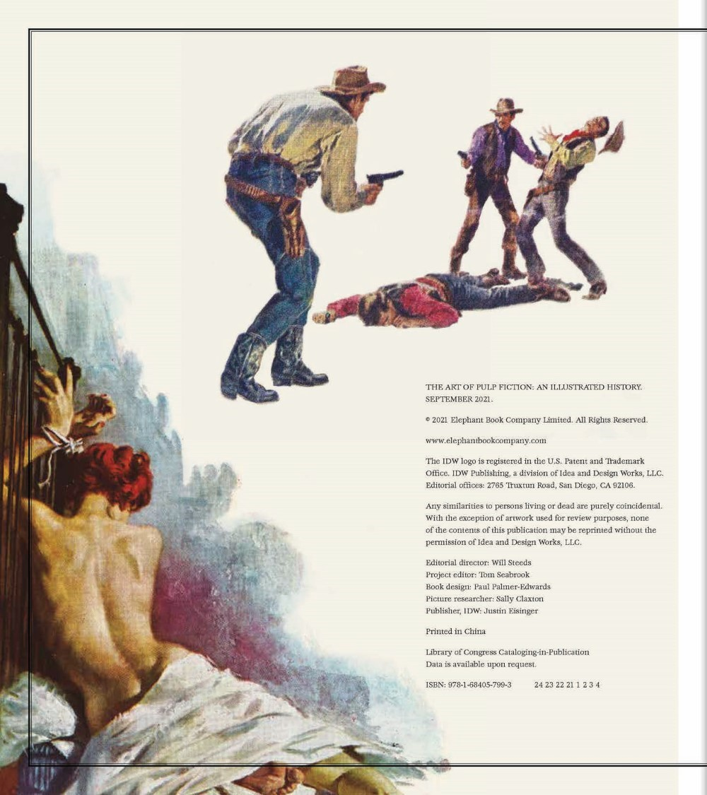 •AoPF_BOOK_Lo-010 ComicList Previews: THE ART OF PULP FICTION AN ILLUSTRATED HISTORY OF VINTAGE PAPERBACKS HC
