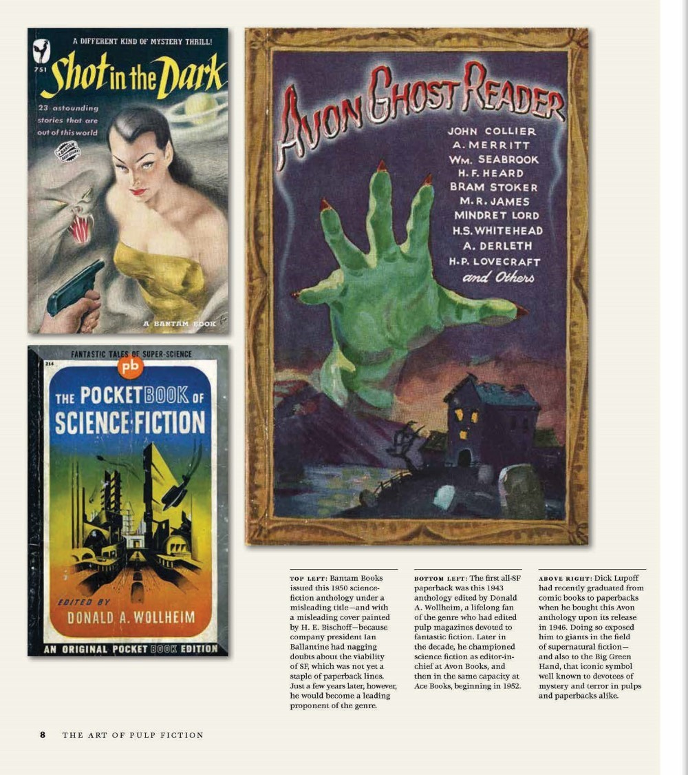 •AoPF_BOOK_Lo-014 ComicList Previews: THE ART OF PULP FICTION AN ILLUSTRATED HISTORY OF VINTAGE PAPERBACKS HC